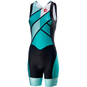 Castelli Short Distance Race Suit Women turquoise/green